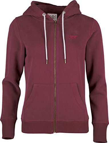 Chiemsee Damen Sweat Jacket Herja Burgundi