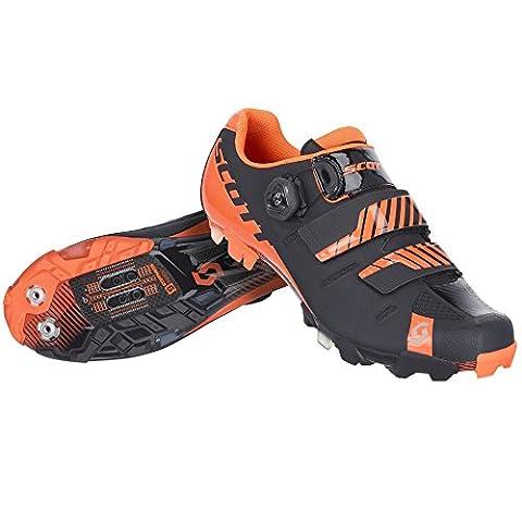 Scott MTB Premium Fahrrad Schuhe schwarz/orange 2017: Größe: 44