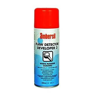 30290-AA AMBERSIL FLAW DETECTOR DEVELOPER 3 WHITE COATING - WATER OR SOLVENT RINSABLE 400ML AEROSOL
