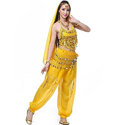 ch Gurt Hängenden Laterne Shorts Währung Garn Indien Tanz Passt . Yellow . 2 (Grüne Laterne Kostüm Für Verkauf)