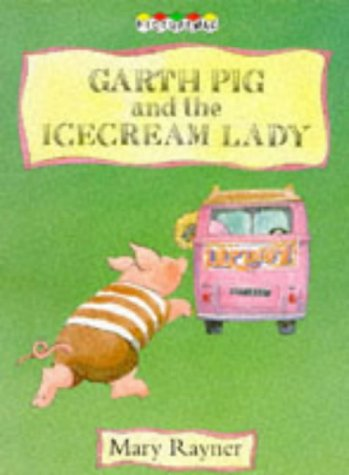 Garth Pig and the ice cream lady.