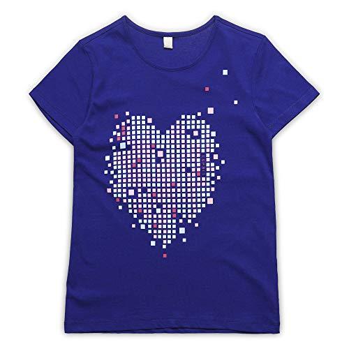 ESPRIT KIDS ESPRIT KIDS Mädchen Short Sleeve Tee-Shirt T-Shirt, per Pack Blau (Jewel 426), 128 (Herstellergröße: XS)