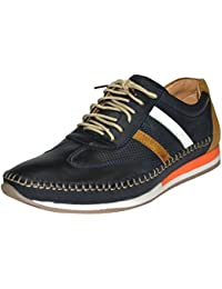 Human Steps Big Size Men's Blue Outdoor Casual Shoes