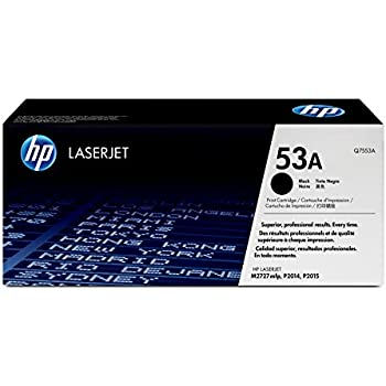 HP 53A Toner Noir Authentique (Q7553A)