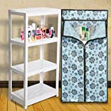 #7: NAYASA MULTIPURPOSE COLLAPSIBLE CUPBOARD (COLOR AND PRINT MAY VERY )