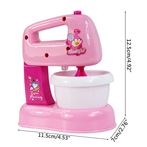 Vivianu Kinder Kid Boy Girl Blender Toy Set Ausbildung Temprana, Dummy Mini Küche Elektrogeräte