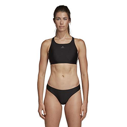 adidas Damen FIT 2PC 3S Swimsuit Black 40