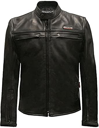 Skintan Childrens Kids Leather Motorcycle Biker Jacket ...