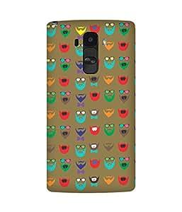 Beard Colour-60 LG G4 Case