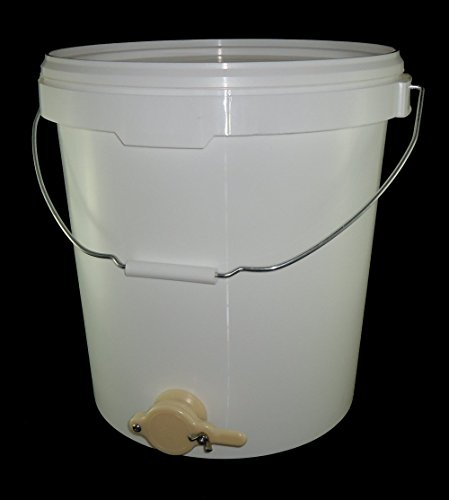 HONEY SETTLING TANK - HONEY TANK WITH VALVE (30 LITRES) - HONEY EXTRACTION - BEEKEEPING Test