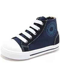 84731 sneaker blu BURBERRY scarpa bimbo bimba shoes kids unisex 5e0f843d91b