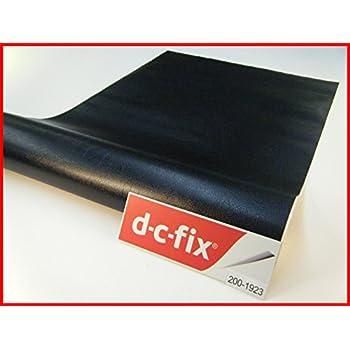 neoxxim selbstklebende pvc lederfolie lederoptik folie meterware schwarz 300x152 cm klebefolie. Black Bedroom Furniture Sets. Home Design Ideas