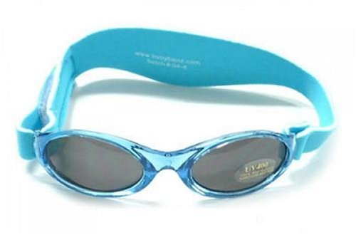 BabyBanz BB008 Baby - Jungen Babykleidung/ Accessoires/ Sonnenbrillen, Gr. One Size Blau (Blau) (Blau)