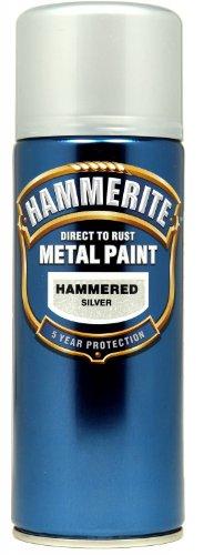 hammerite-direct-to-rust-metal-paint-aerosol-hammered-finish-400ml-silver