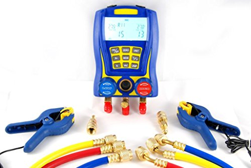 Digitale Prüfarmatur WK-6889, Monteurhilfe für Klimaanlagen -