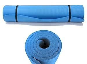 Kronenburg Yogamatte Pilates Gymnastikmatte 190 x 60 x 1,5 cm in Blau