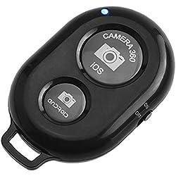 Adurei Télécommande Bluetooth sans Fil pour Smartphones, Faites des Selfies pour Les appareils iOS et Android avec Bluetooth (iPhone,Samsung etc), Pratique et Facile à Créer des Photos étonnantes