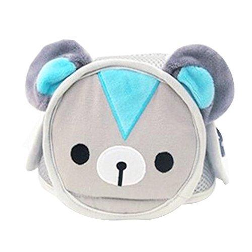 Baby Helm, Isuper Baby Kopfschutz gegen Stöße beim Lauflernen Verstellbare Schutzkappe in Cartoonfigur für Kleinkinder von 6 Monaten bis 6 Jahre (Bär)