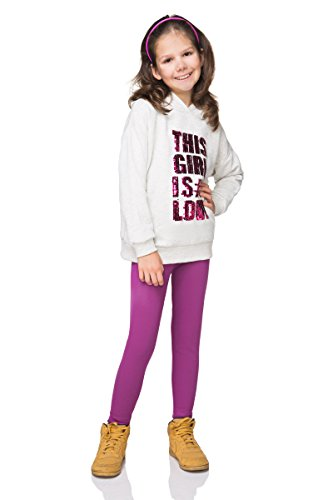 hi!mom Thick Warm Full Length Childrens Trousers Girls Cotton Leggings Kids Style Age 2 3 4 5 6 7 8 9 10 11 12 13 FF1CH