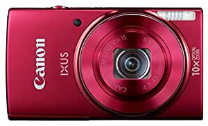 Canon IXUS 155 20 MP Point and Shoot Camera (Red) with 10x Optical Zoom Camera Case