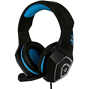 Redgear Dagger Wired Professional Gaming Headphones with RGB LED Effect, Volume Controller and Retractable Microphone…