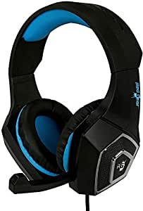 Redgear Dagger Professional Gaming Headphones with RGB LED Effect, Volume Controller and Retractable Microphone