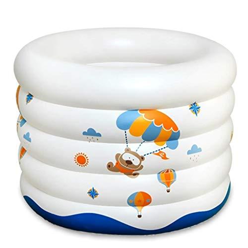 Bañera Plegable Inflable/Bañera para Niños para Facilitar El Almacenamiento Y El Aislamiento Espesor...