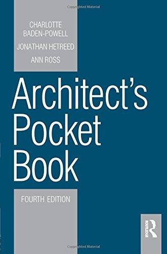 Architect's Pocket Book 4E (Routledge Pocket Books) by Ann Ross (2011-02-02)
