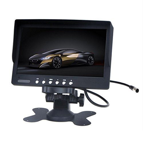 EINCAR Auto-Monitor Overhead 7 Zoll Digital-TFT-LCD-Bildschirm Autorearview-Monitor hdmi Auto 2 Video-Eingang DVD VCD NTSC/PAL-System