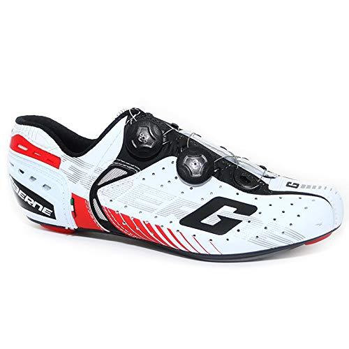 Gaerne Carbon Composite G.Chrono+ Scarpe Road Ciclismo, Red - Bianco, 39