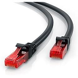 CSL - Cavo di Rete 5m - Cat.6 Ethernet Gigabit LAN (RJ45) | 10 100 1000 Mbit/s | Cavo Patch | UTP | Compatibile con Cat.5 Cat.5e Cat.7
