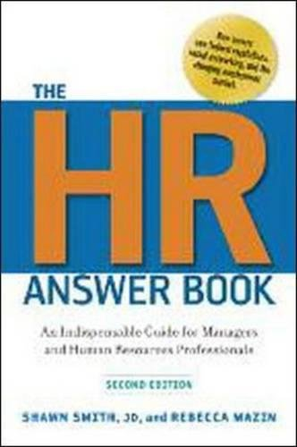 Pdf the hr answer book an indispensable guide for managers and pdf the hr answer book an indispensable guide for managers and human resources professionals read full by shawn smith fandeluxe Image collections