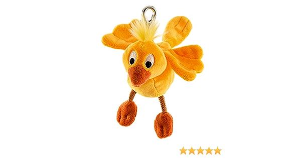 Schaffer Knuddel Mich Schaffer 206 Plüsch Schlüsselanhänger Vogel Chippy Gold Baby