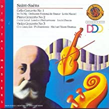 Saint Saens Cello Concerto No. 1. Piano Concerto No.2. Violin Concerto No. 3