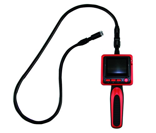 Preisvergleich Produktbild REV Ritter Inspektionskamera mit LCD-Farbmonitor, rot, 0037800012