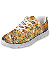 MODEGA Calzado Deportivo Zapatos Pintura Zapatilla de Deporte del Tenis los Hombres Zapatos Corrientes de la Zapatilla de Deporte de Bolos los Hombres