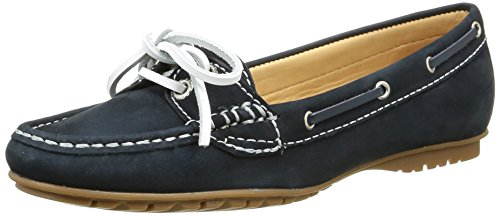 SebagoMeriden Two Eye - Mocassini Donna Blu (NAVY NUBUCK)