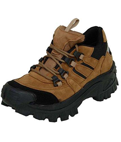 Aadi Enterprises Men's Brown Synthetic Canvas Boots (9)