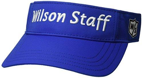Wilson Staff Herren Accessoires W/S Visor Mix Blwhbu, Mehrfarbig, WGH450000MIX (Wilson Visor)
