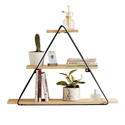 Étagère murale Ensemble de salon Étagère Triangle Étagère décorative simple