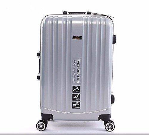 hoom-bagagli-in-alluminio-carrello-ruote-universali-box-bagagli-di-viaggio-casogrigio-h50i36w22-cm