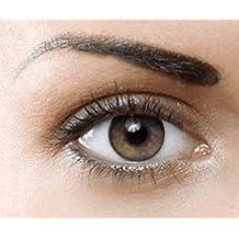 b48034cb225d69 Lentilles de contact de Couleur naturelle (CHESTNUT BROWN) Sans correction-  1 paire (