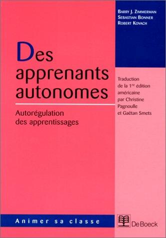 Apprenants autonomes par Zimmerman