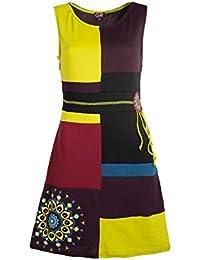 Coline - Robe patchwork
