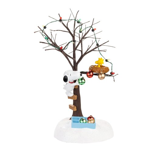 Department 56 Peanuts Village Sharing Christmas Spirit Village Accessory, 3.54-Inch by Department 56 (Peanuts Christmas Village)