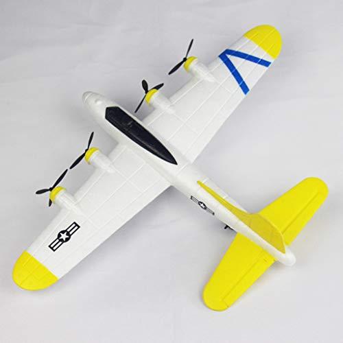 LILICAT??2.4G EPP Matériel FX823 Drone 2CH RC Avion Planeur Télécommande Avion en Plein air,Avion Planeurs Enfant - Vol Libre - Lancé Main - Toys D'Aéronautique Cadeau Anniversaire Garçon