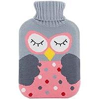 Tragbare Heißwassertasche Wärmflasche Handwärmer Winter Zubehör, Eule preisvergleich bei billige-tabletten.eu