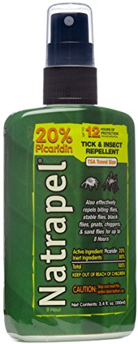 Adventure Medical Kits Natrapel 3.4oz Pump Spray Picaridin Insect Repellent