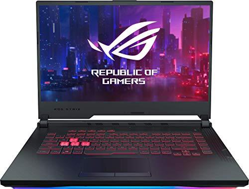 "ASUS ROG Strix G531GT-BQ020 - Ordenador portátil de 15.6"" FullHD (Intel Core i7-9750H, 8 GB RAM, 256 GB SSD, GeForce GTX1650-4GB, Sin sistema operativo) negro - Teclado QWERTY Español"