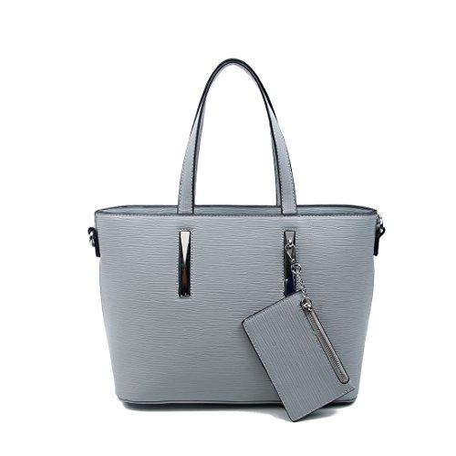 OBC Only-Beautiful-Couture, Borsa a spalla donna nero nero ca.: 37x25x12 cm (BxHxT) Grau